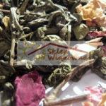 NOWOŚĆ! Herbata zielona gunpowder z płatkami róży