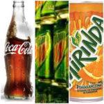 Coca-Cola, Mirinda, Mountain  Dew – kwasy ze spożywczego