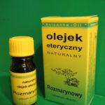 Olejek rozmarynowy – pobudza, wzmacnia organizm, usuwa zmęczenie