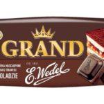 Lody Grand o smaku serka mascarpone z wkręconym sosem tiramisu w czekoladzie 87g Koral [ODKRYCIE LIPCA 2018]