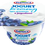 Jogurt typu greckiego z jagodami 4% tł. 150g Piątnica [ODKRYCIE WRZEŚNIA 2020]