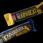 Batonik Pawełek Advocat Wedel kontra czekolada deserowa Arcy Advocat Mister Choco z Lidla [CZY TO WARTO JEŚĆ?]