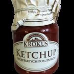 Ketchup z przetartych pomidorów 180g Krokus